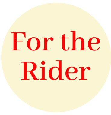 For the Rider