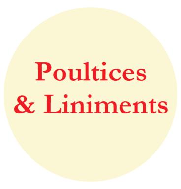 Poultices & Liniments
